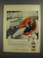 1957 Southern Comfort Ad - First-Sip Pleasure
