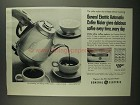 1958 General Electric Automatic Coffee Maker Ad