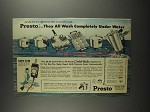 1959 Presto Ad - Fry Pan, Griddle, Coffeemaker