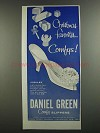 1959 Daniel Green Jubilee Shoes Ad - Comfys!