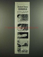 1959 Easy-Off Oven Cleaner Ad - Dirtiest Ovens Sparkle