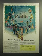 1962 Pacific Area Travel Association Ad - Ageless World