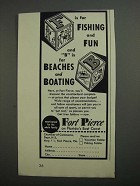 1962 Fort Pierce Florida Ad - F is For Fishing and Fun