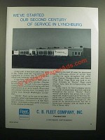 1976 C.B. Fleet Company Ad - Our Second Century
