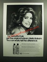 1976 Wella Balsam Shampoo & Conditioner Ad - Beautiful