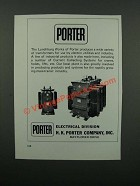 1976 H.K. Porter Company Electrical Division Ad