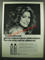 1975 Wella Balsam Shampoo and Conditioner Ad