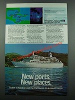 1975 Princess Cruises Ad - New Ports New Places