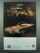 1972 Cadillac Eldorado Convertible Ad - A Thoroughbred