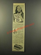 1947 Tampax Tampons Ad - Vacation Would Have Spoiled