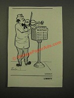 1947 Cartoon by Lawrence Lariar - Coin Here Selections