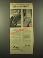 1946 Zonite Feminine Hygiene Ad - Hold Over Her Husband
