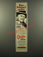 1946 Duel in the Sun Movie Ad - Lionel Barrymore