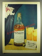 1943 Old Forester Bourbon Ad - Nothing Better