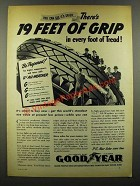 1941 Goodyear G-3 All-Weather Tires Ad - Grip