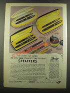 1940 Sheaffer's Pens Ad - Give Your Student the Finest
