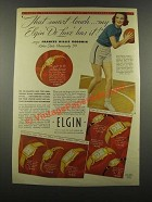 1939 Elgin Watch Ad - Frances Hillis Goodwin