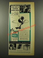 1939 Kool Cigarettes Ad - You Get a Change