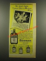 1938 Glenmore Whiskey Ad - Kentucky Tavern, Tom Hardy