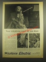 1938 Western Electric Ad - I Want a Policeman