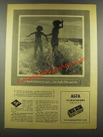 1937 Agfa Plenachrome Film Ad - A Hard Picture To Get