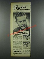 1937 Vitalis Hair Tonic Ad - Appearance and Success