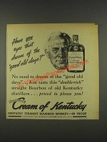 1937 Cream of Kentucky Bourbon Ad - Norman Rockwell