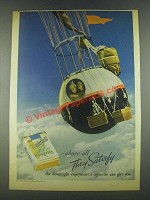 1936 Chesterfield Cigarettes Ad - Above All Satisfy