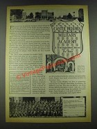 1936 Castle Heights Military Academy Ad - Distinguished