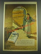 1936 Chesterfield Cigarettes Ad - Aromatic Turkish