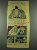 1936 Kool Cigarettes Ad - In Either Case Keep Kool