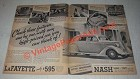 1936 LaFayette 4-Door Sedan Ad - These Features