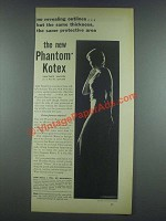 1933 Kotex Sanitary Napkin Ad - The New Phantom