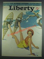1933 Liberty Jan. 21, 1933 Cover
