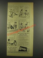 1933 Rinso Soap Detergent Ad - Save Money
