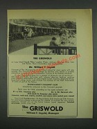 1933 The Griswold Resort Ad