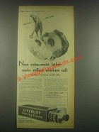1932 Lifebuoy Shaving Cream Ad - Extra-Moist Lather
