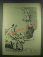 1931 Rollin Kirby Cartoon - Al Capone & Uncle Sam