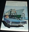 1966 Pontiac Bonneville Car Ad, Luxury NICE!!