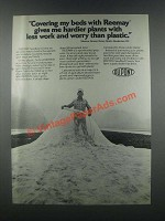 1985 Du Pont Reemay Seedbed Cover Ad - Hardier Plants