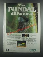 1985 Nor-Am Fundal Ad - The Difference