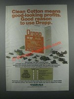 1985 Nor-Am Dropp Ad - Clean Cotton
