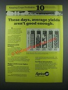1985 Agrico Fertilizer Ad - Average Yields Aren't Good