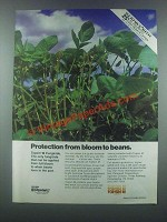 1985 Pennwalt Topsin-M Ad - From Bloom to Beans