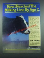 1985 Southern States TCR Total Calf Ration Ad