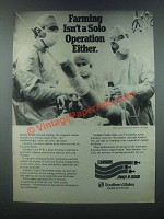 1985 Southern States Ad - Farming Isn't Solo Operation
