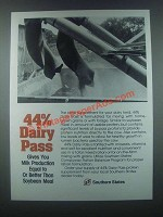 1985 Southern States Dairy Pass Ad - 44% Dairy Pass