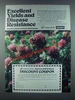 1985 Southern States Clovers and Grasses Ad - Yields