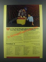 1985 Gustafson Pro-Ized Treated Seed Ad