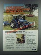 1985 Ford TW-15 Tractor Ad - Maintenance Three Years